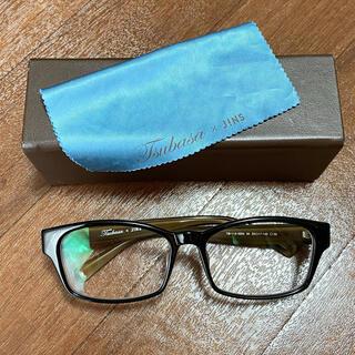 ジンズ(JINS)のJINSジンズコラボ眼鏡だてメガネ益若つばさ(サングラス/メガネ)