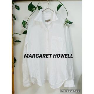 MARGARET HOWELL - マーガレットハウエル リネンシャツ