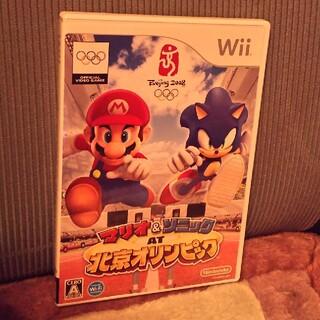 Wii - Wii用ソフト マリオ&ソニックAT北京オリンピック
