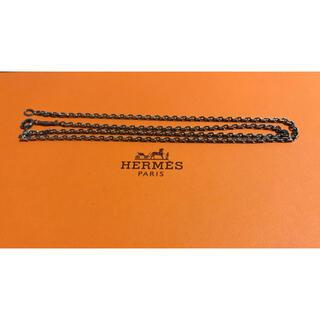 エルメス(Hermes)のエルメス ネックレス シルバー silver(ネックレス)