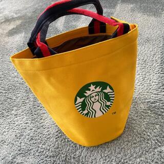 STARBUCKS スタバ 鞄 トートバッグ ランチバック 黄色
