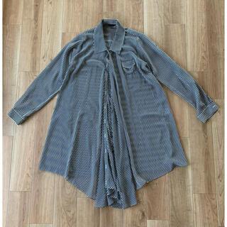 L'Appartement DEUXIEME CLASSE - 【新品】ストライプ ドレープシャツ シャツワンピース