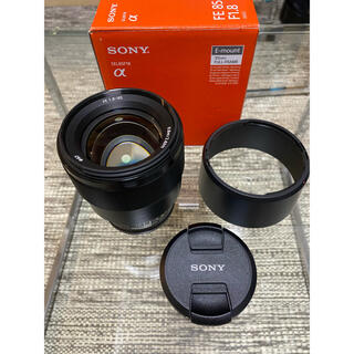 SONY - SONY FE 85mm F1.8 SEL85F18
