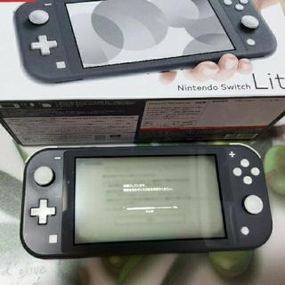 ニンテンドースイッチ(Nintendo Switch)の あいかmama様専用 Switch Lite本体  スイッチ ライト グレー(家庭用ゲーム機本体)