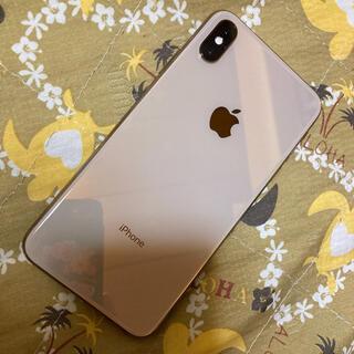 アップル(Apple)のiPhone Xs Max 64GB ゴールド SIMフリー(スマートフォン本体)