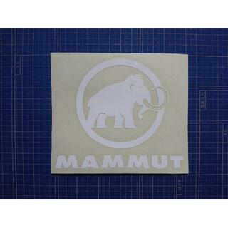 Mammut - カッティングシート加工
