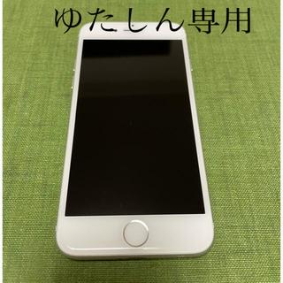 iPhone - 完動品SIMフリー液晶無傷iPhone7本体32GBシルバーDOCOMO白ロム