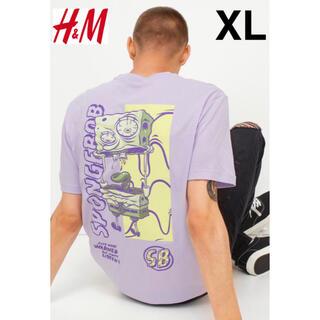 H&M - 新品 安値 H&M × スポンジボブ SpongeBob Tシャツ XL