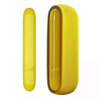 IQOS - IQOS3 DUO アイコス3ケース カバーセット アイコス (黄色い)