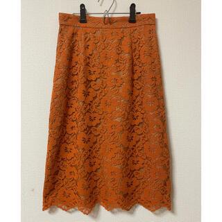 プロポーションボディドレッシング(PROPORTION BODY DRESSING)の新品未使用 フラワースカート(ひざ丈スカート)