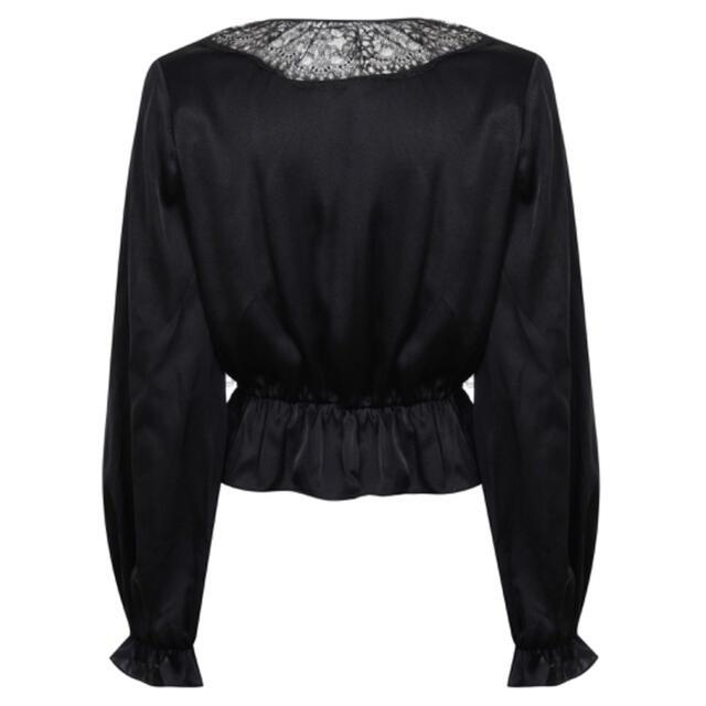 Katie(ケイティー)の新品 agent provocateur silk blouse レディースのトップス(シャツ/ブラウス(長袖/七分))の商品写真