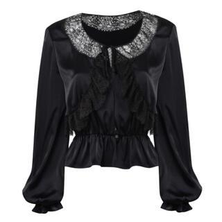 ケイティー(Katie)の新品 agent provocateur silk blouse(シャツ/ブラウス(長袖/七分))