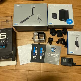 ゴープロ(GoPro)のGoPro HERO 6 Blackセット(コンパクトデジタルカメラ)