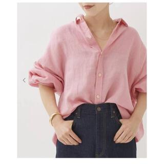 Plage - plage linenボリュームシャツ
