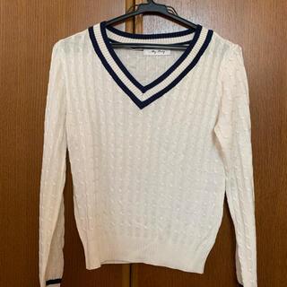 ディーホリック(dholic)のセーター Vネック オフィスカジュアル(ニット/セーター)