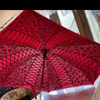 シャンタルトーマス(Chantal Thomass)の折り畳み傘 新品タグ付き(傘)