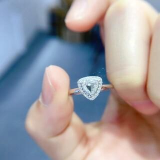 天然ダイヤモンドリング0.517ct k18