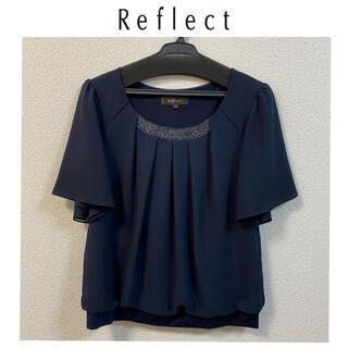 リフレクト(ReFLEcT)のReflect ビジュー使いプリーツカットソー(シャツ/ブラウス(半袖/袖なし))