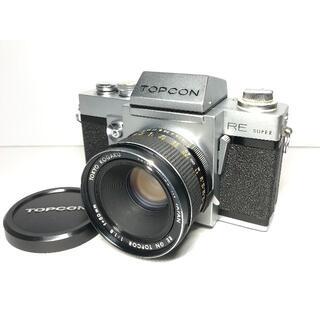 トプコン REスーパー RE GN TOPCOR 50mm F1.8(フィルムカメラ)