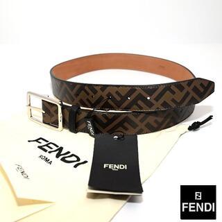 FENDI - 新品 2021SS FENDI レザーロゴベルト
