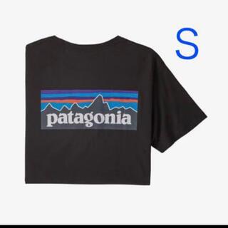 patagonia - patagonia パタゴニア P-6 Tシャツ Sサイズ ブラック