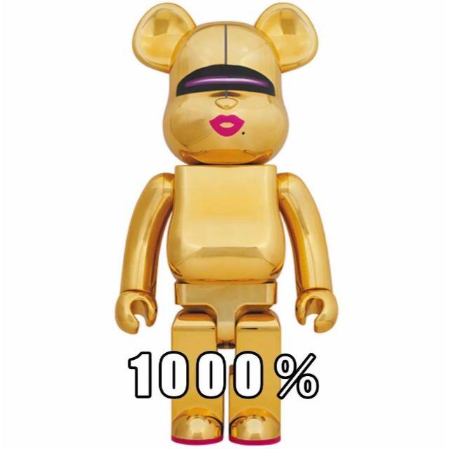 MEDICOM TOY(メディコムトイ)のBE@RBRICK SORAYAMA × 2G GOLD Ver. 1000%  エンタメ/ホビーのフィギュア(その他)の商品写真
