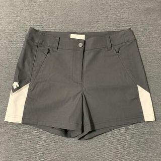 DESCENTE - デサント ゴルフ レディース ショートパンツ 黒 Mサイズ
