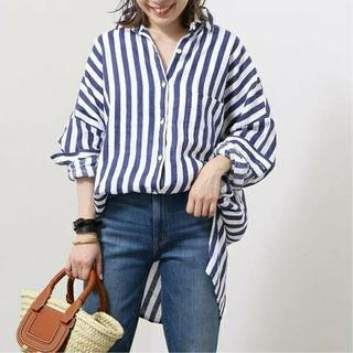 DEUXIEME CLASSE - 新品タグ付 EVERYDAY I LIKE. ワイドシャツ (Linen)