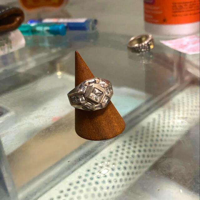 vintage デザイン リング silver 925  メンズのアクセサリー(リング(指輪))の商品写真