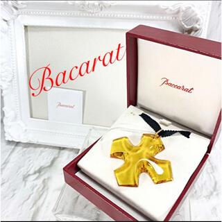 バカラ(Baccarat)のバカラ Bacarat クロスペンダントネックレス チョーカー(ネックレス)