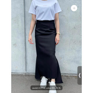 clastellar マーメイドスカート ブラック sayako