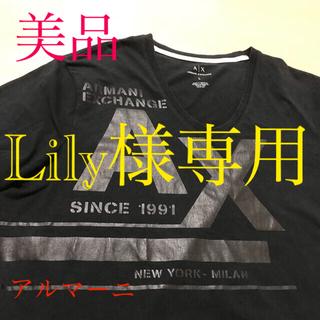 ARMANI EXCHANGE - 【美品】★ARMANI EXCHANGE★ Vネック Tシャツ