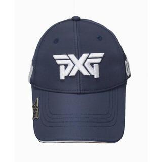 ★新品・新作★ PXG キャップ 帽子 ネイビー ★ マーカー付(キャップ)