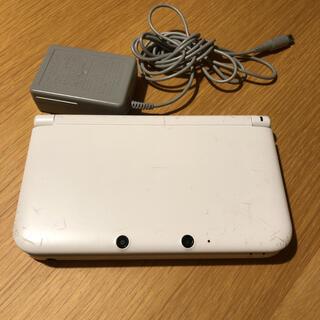 ニンテンドー3DS - ニンテンドー3DS LL ホワイト SDカードあり