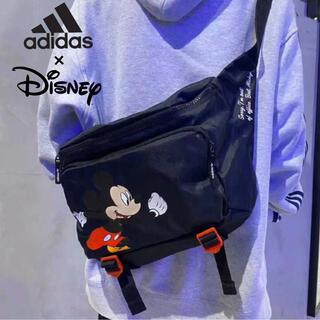 ディズニー(Disney)のadidas × Disney コラボ ボディバッグ ユニセックス ブラック(ボディバッグ/ウエストポーチ)
