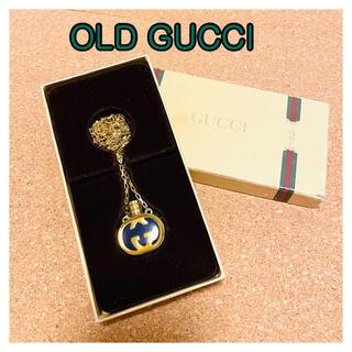 Gucci - 美品、オールドグッチ、ボトルネックレス、ゴールド