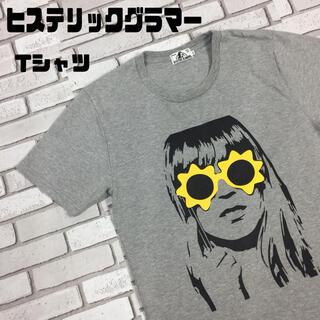 ヒステリックグラマー(HYSTERIC GLAMOUR)の古着 ヒステリックグラマー ガール サングラス ビッグプリント tシャツ(Tシャツ/カットソー(半袖/袖なし))