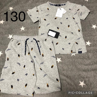 ポロラルフローレン(POLO RALPH LAUREN)のPOLO BABY 新品未使用 130 ポロベア セットアップ(Tシャツ/カットソー)