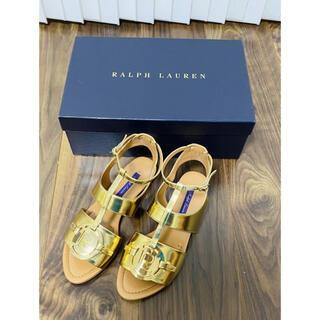 ラルフローレン(Ralph Lauren)のラルフローレン コレクション ラルフ 新品 フラットサンダル サンダル 未使用(サンダル)