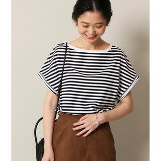 イエナスローブ(IENA SLOBE)のデザインフレンチスリーブTEE(Tシャツ(半袖/袖なし))