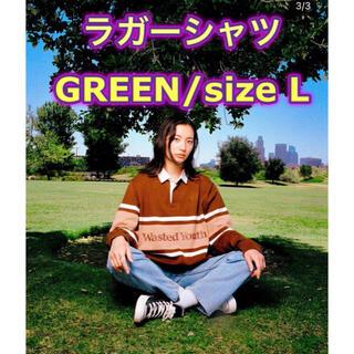 シュプリーム(Supreme)のTOKION × wasted youth ラガーシャツ L(スウェット)