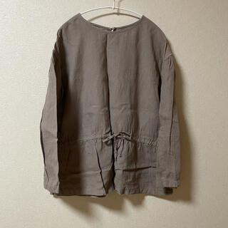 IDEE - IDEE POOL いろいろの服 無印良品 リネン ブラウス グレー