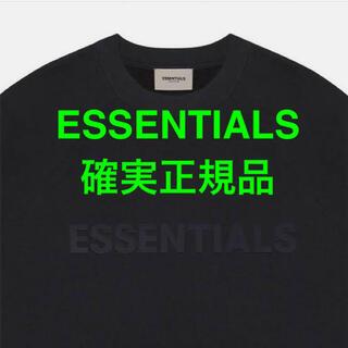 フィアオブゴッド(FEAR OF GOD)のFEAR OF GOD ESSENTIALS 3D Tシャツ ブラック XS(Tシャツ/カットソー(半袖/袖なし))