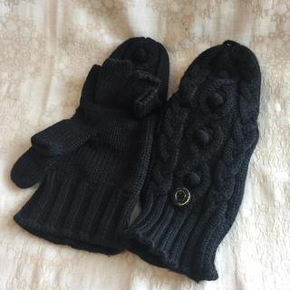 ムジルシリョウヒン(MUJI (無印良品))の無印良品 MUII ♡定番 ミトンにもなる半指手袋(手袋)