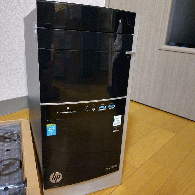HP(ヒューレットパッカード)の【メモリ多め】デスクトップ i5-4440 16GB 1TB ミニタワー スマホ/家電/カメラのPC/タブレット(デスクトップ型PC)の商品写真