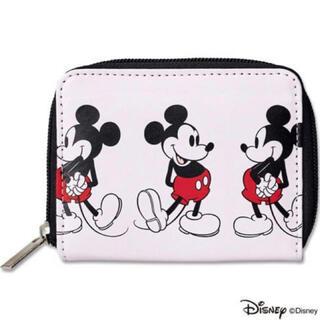 ミッキーマウス - mini ミニ 2019年12月号付録 シップス ミッキーマウス 二つ折り財布
