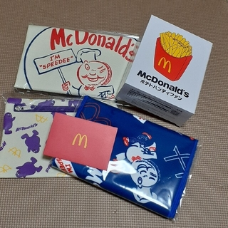 マクドナルド(マクドナルド)のマクドナルド ビッグスマイルバッグ 500円分マックカード付き (ノベルティグッズ)