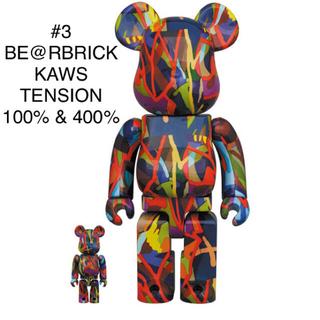 MEDICOM TOY - #3 BE@RBRICK KAWS TENSION 100% & 400%