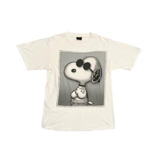 90s USA製 SNOOPY Tシャツ オフィシャル peanuts