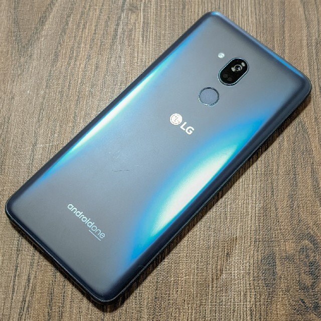 LG Electronics(エルジーエレクトロニクス)のわけありAndroid One X5 モロロッカンブルー スマホ/家電/カメラのスマートフォン/携帯電話(スマートフォン本体)の商品写真
